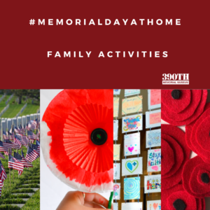 Memorial Day from home family activities