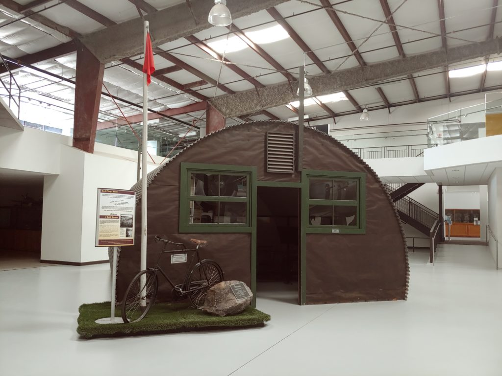 Image of WWII era Nissen Hut