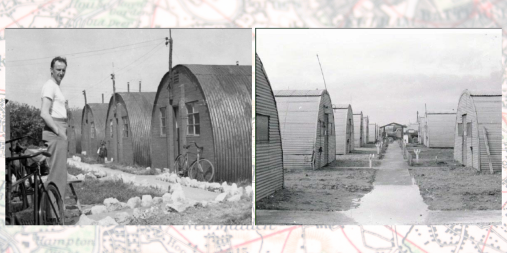 American vs British construction of Nissen and Quonset huts